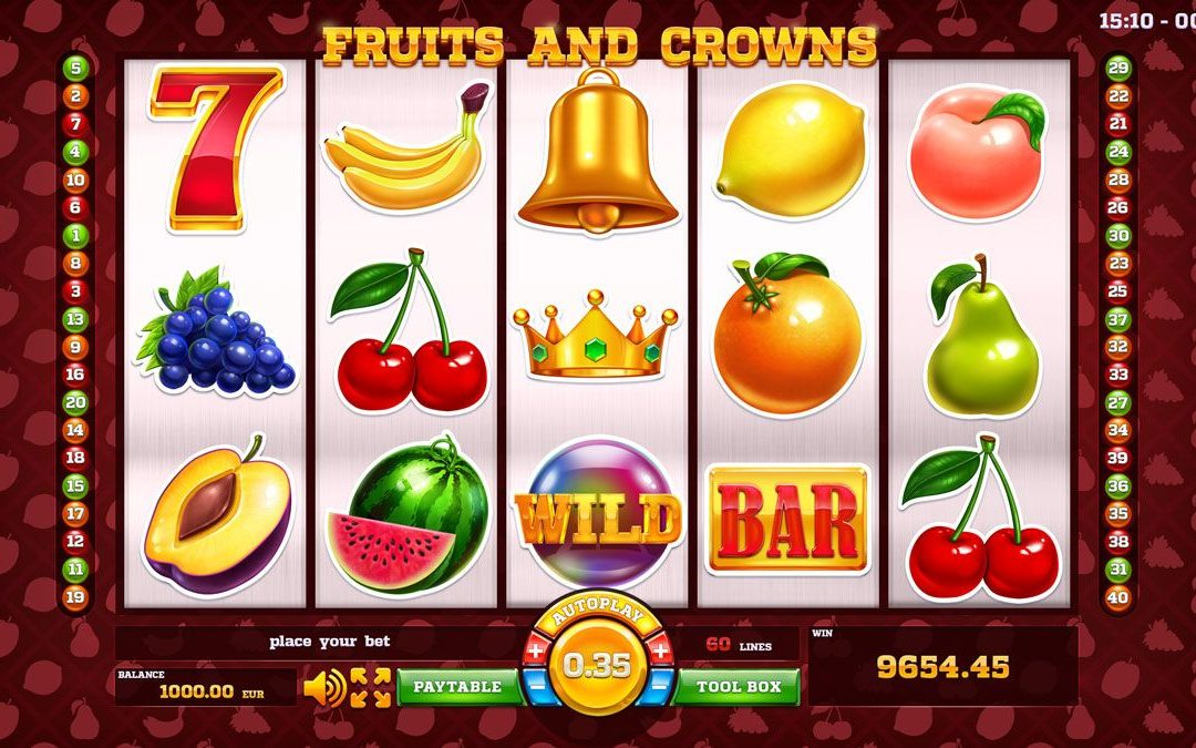 The Fun of Fruit Slots Machine